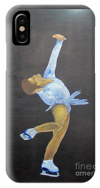 IPhone Case featuring the painting Free by Saundra Johnson