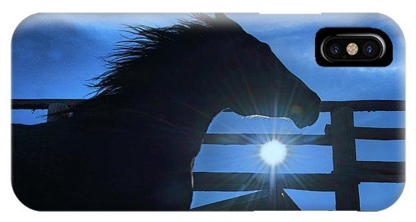 Free Spirit Horse IPhone Case