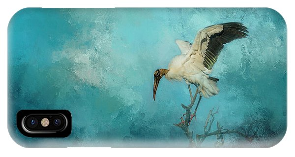 Stork iPhone Case - Free Will by Marvin Spates