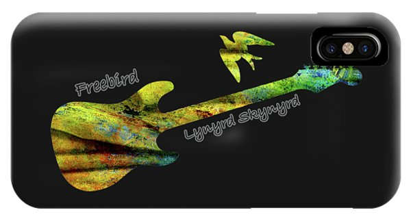 Freebird Lynyrd Skynyrd Ronnie Van Zant IPhone Case