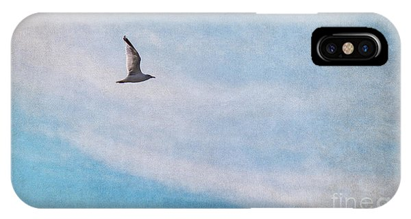 Sky iPhone Case - Freedom by Angela Doelling AD DESIGN Photo and PhotoArt