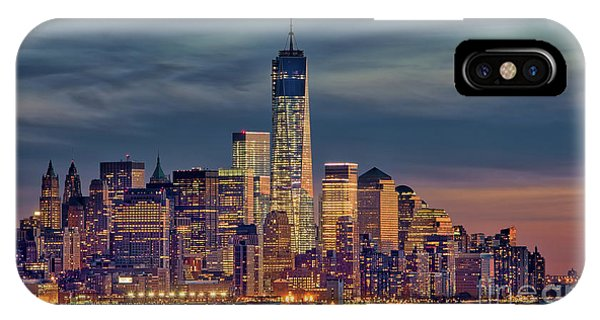 Freedom Tower Construction End Of 2013 IPhone Case