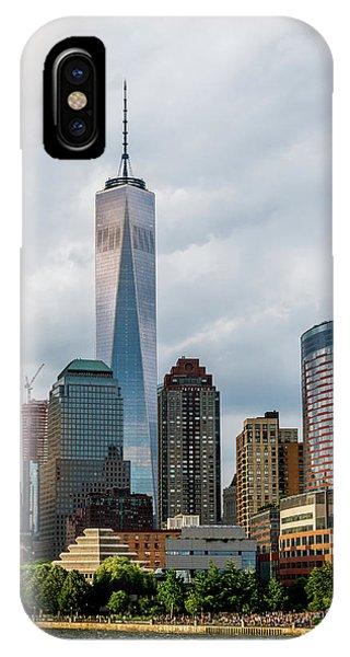 Freedom Tower - Lower Manhattan 1 IPhone Case