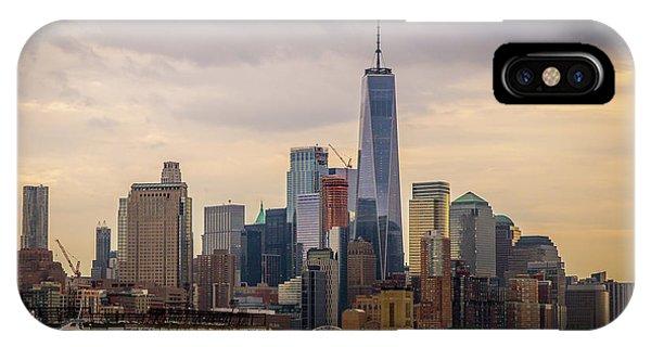 Freedom Tower - Lower Manhattan 2 IPhone Case