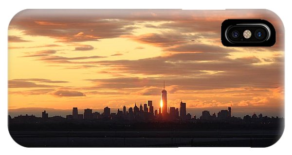Freedom Tower Reflection IPhone Case