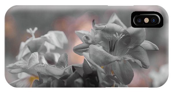 Freesia'a Without Colour IPhone Case