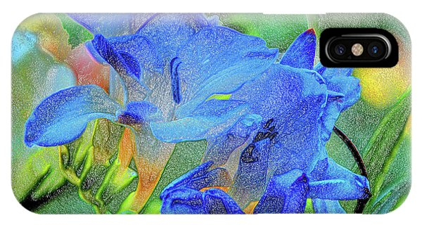 Freesia's Of Beauty IPhone Case