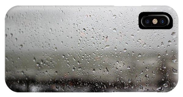 Freezing Rain IPhone Case