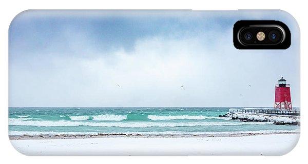 Freezing Storm IPhone Case