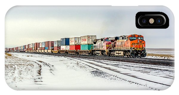 Train iPhone Case - Freight Train by Todd Klassy