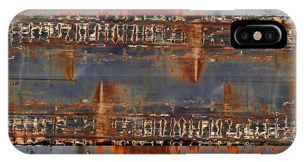 Freighter Abstract 11 IPhone Case