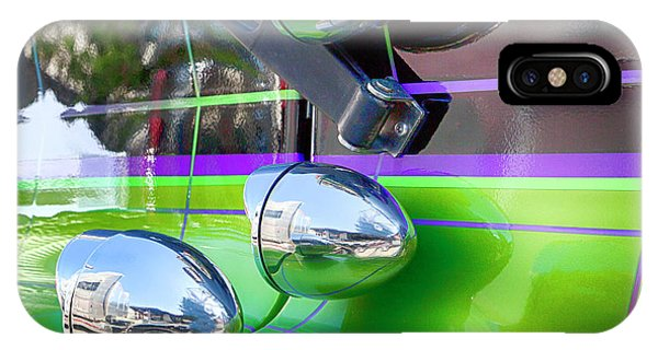 Trucking iPhone Case - Freightliner Abstract by Theresa Tahara