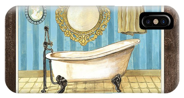French Bath 1 IPhone Case
