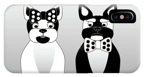 French Bulldog Date Night  IPhone Case
