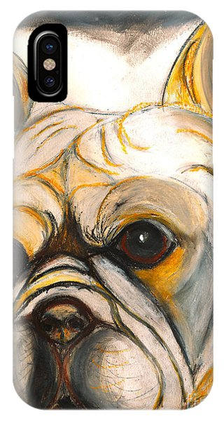 French Bulldog Drawing IPhone Case