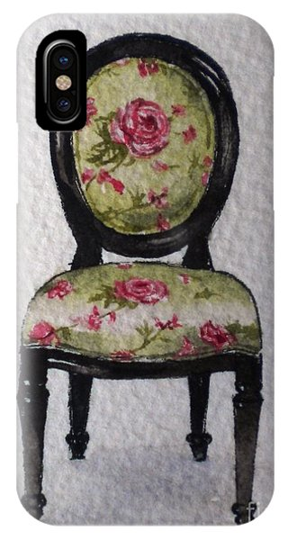French Chair IPhone Case