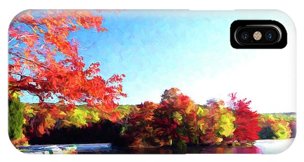 French Creek Fall 020 IPhone Case