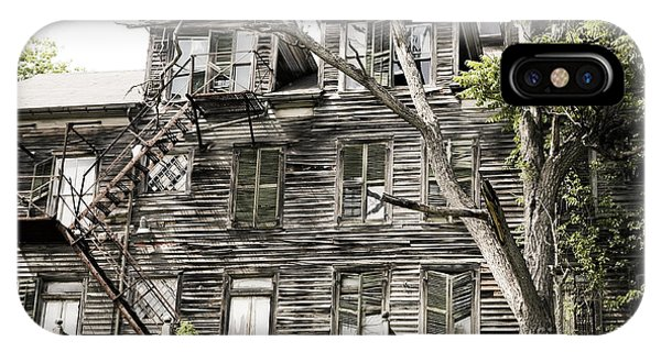 French Doors And Fire Escapes IPhone Case