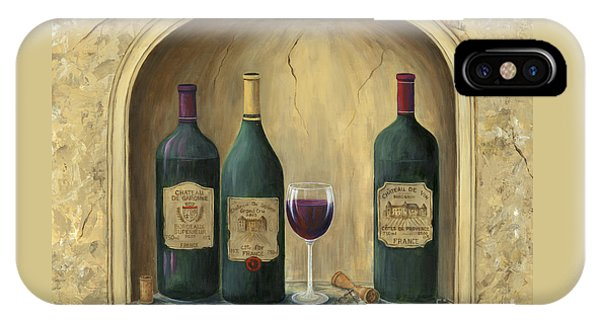 French Estate Wine Collection IPhone Case