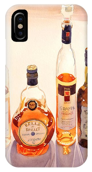 Beverage iPhone Case - French Liqueurs by Mary Helmreich