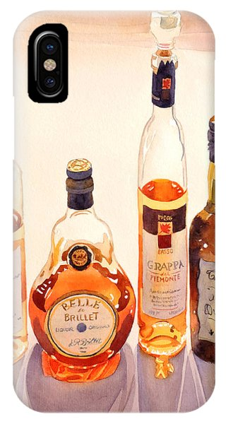 French Liqueurs IPhone Case