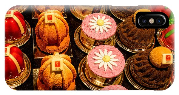 French Pastries In Lyon IPhone Case