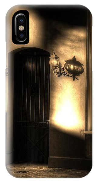 French Quarter Door IPhone Case