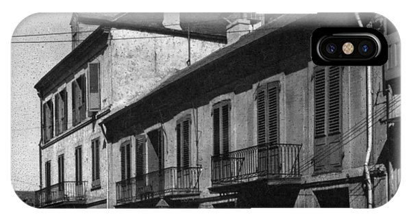 French Quarter Residences IPhone Case