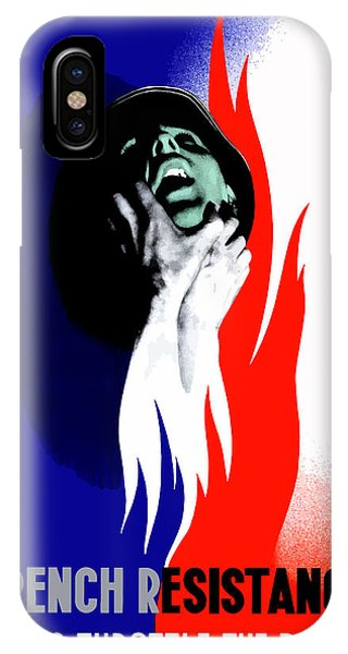 French iPhone Case - French Resistance Helps Throttle The Boche by War Is Hell Store