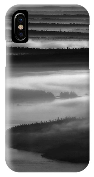 Frenchman's Bay Recursion IPhone Case