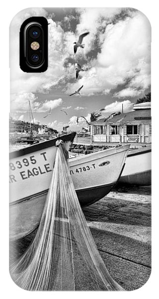 Frenchtown Fishing Boats 1 IPhone Case
