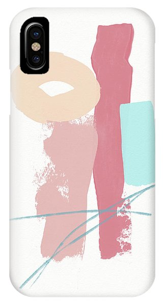 Pink iPhone Case - Fresh Abstract 1- Art By Linda Woods by Linda Woods