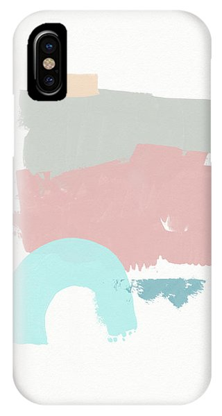 Pink iPhone Case - Fresh Abstract 2- Art By Linda Woods by Linda Woods