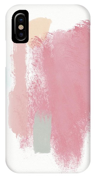 Pink iPhone Case - Fresh Abstract 3- Art By Linda Woods by Linda Woods