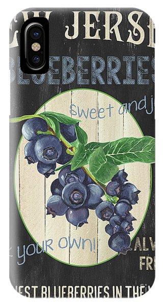 Blueberry iPhone Case - Fresh Berries 1 by Debbie DeWitt
