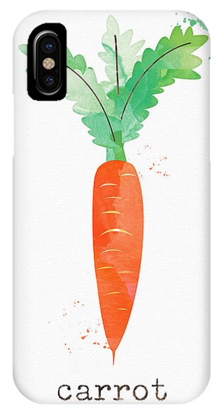 Room iPhone Case - Fresh Carrot by Linda Woods