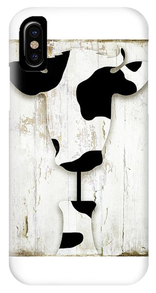 Cow iPhone X / XS Case - Fresh Dairy by Mindy Sommers