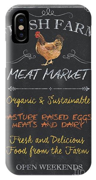 Fresh iPhone Case - Fresh Farm Meat by Debbie DeWitt