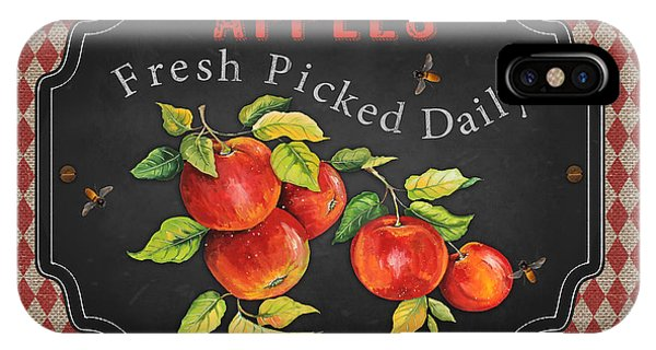 Orchard iPhone Case - Fresh Fruit-jp3738 by Jean Plout