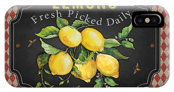 Orchard iPhone Case - Fresh Fruit-jp3740 by Jean Plout