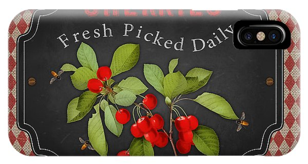 Orchard iPhone Case - Fresh Fruit-jp3741 by Jean Plout
