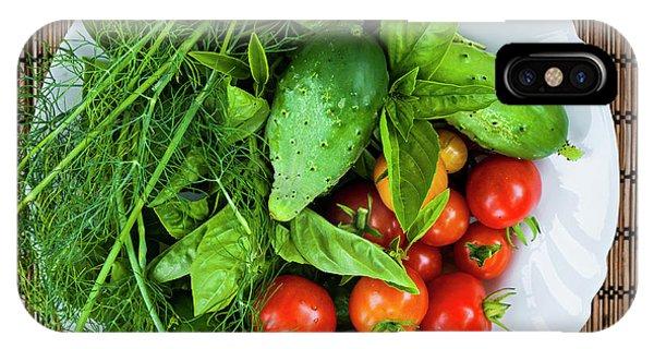 iPhone Case - Fresh Garden Vegetables by Elena Elisseeva