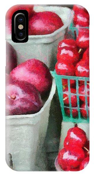Fresh Market Fruit IPhone Case