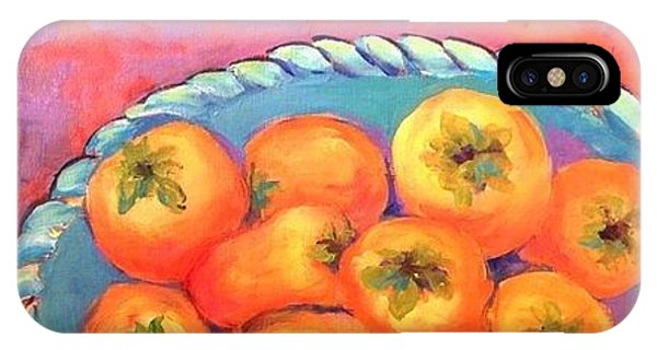 Fresh Persimmons IPhone Case