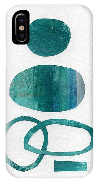 Aqua iPhone Case - Fresh Water by Linda Woods