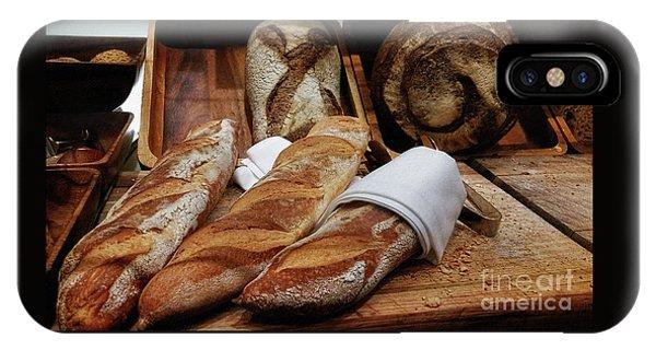 Freshly Baked Bread By Kaye Menner IPhone Case