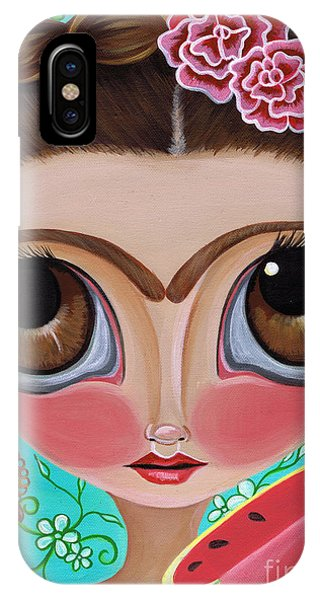 Frida And The Watermelon IPhone Case