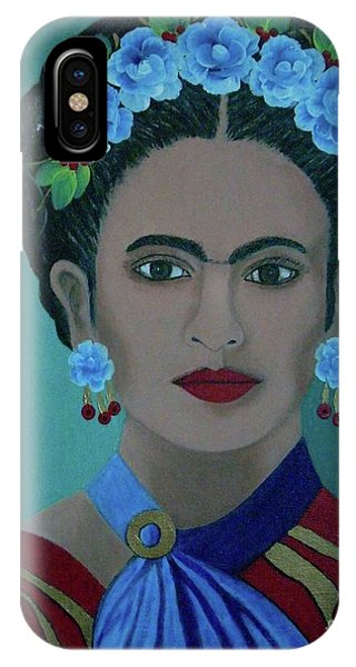 Frida Phone Case by Iris Mora