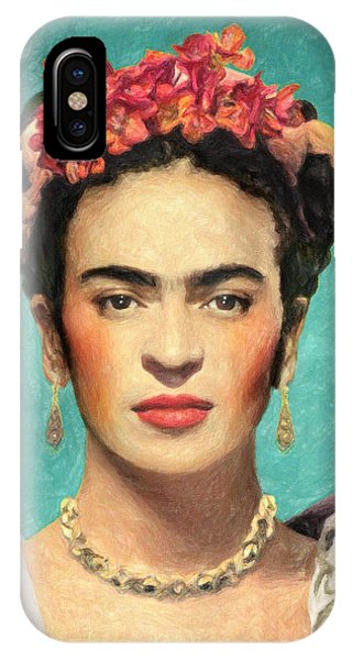 Famous Artist iPhone Case - Frida Kahlo by Zapista