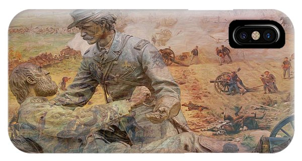 Friend To Friend Monument Gettysburg Battlefield IPhone Case